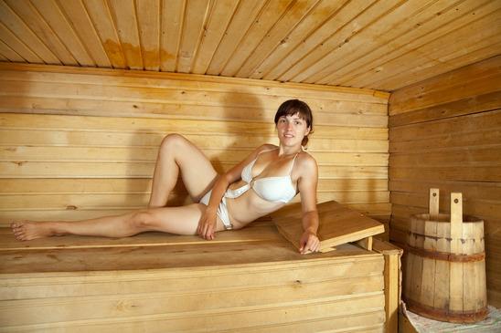 Sauna Cuckold Geschichte